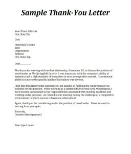 Interview Thank You Letter Format from careercenter.wp.olemiss.edu